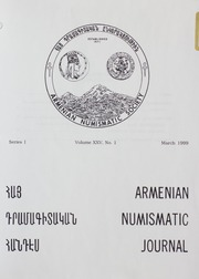 Armenian Numismatic Journal, Series 1, Vol. 25, No. 1-4, and Bulletin No. 19B