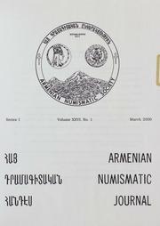 Armenian Numismatic Journal, Series 1, Vol. 26, No. 1-4