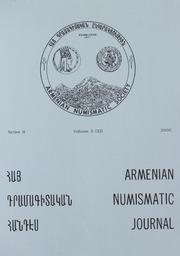 Armenian Numismatic Journal, Series 2, Vol. 2 (32), No. 1-4
