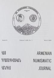 Armenian Numismatic Journal, Series 2, Vol. 5 (35), No. 1-4