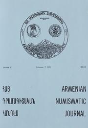 Armenian Numismatic Journal, Series 2, Vol. 7 (37), No. 1-4