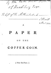 A Paper on the Copper Coin