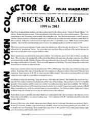 Prices Realized, 1999-2013