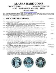 Alaska Rare Coins