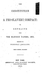 pro-slavery vs. anti slavery essay Another difficulty was the articulation of an explicitly proslavery ideology in the american south after the 1820s, precisely when, according to williams, the second, they were able to show how antislavery had become a true mass movement by the later eighteenth and early nineteenth centuries, in britain.