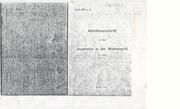 Abtrittsvorschrift Austreten In Der Wehrmacht 1937