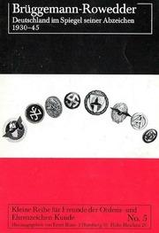 Deutschland im Spiegel seiner Abzeichen 1930-45