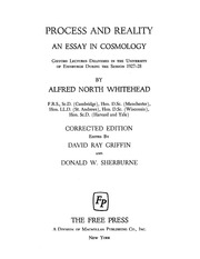 alfred north whitehead process reality sarcastro net alfred north whitehead process reality sarcastro net streaming internet archive