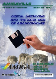Amigaville Issue 3 - Digital archiving and the darkside of abandonware