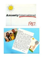 WE ARE ALL BORN FREE - CLASSROOM IDEAS : AMNESTY ...