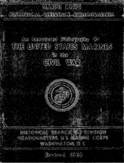 civil war bibliography annotated An annotated bibliography of the united states marines in the civil war the list which follows consists basically of published materials, both primary and.