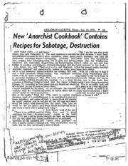 the original anarchist cookbook 1971 pdf