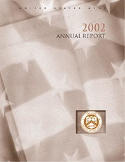 United States Mint Annual Report 2002