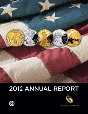 United States Mint Annual Report 2012