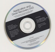 Application and Driver Recovery DVD (HP Compaq)(378574 B27