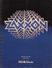 arcade game manual: zaxxon by sega/gremlin