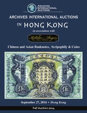 Chinese and Asian Banknotes, Scripophily & Coins