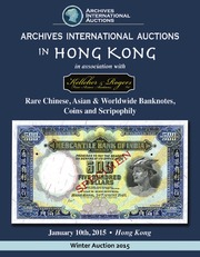 Rare Chinese, Asian & Worldwide Banknotes, Coins and Scripophily