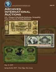 Archives International Auctions Sale 52