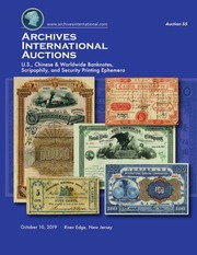 Archives International Auctions Sale 55