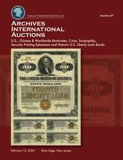 Archives International Auctions Sale 57