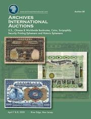 Archives International Auctions Sale 58