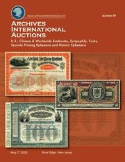 Archives International Auctions Sale 59