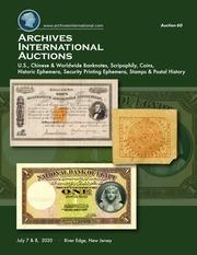 Archives International Auctions Sale 60