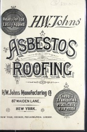 Catalogue for hardie 39 s fibrolite asbestos cement sheets for Philip carey asbestos