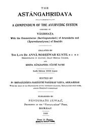 Ashtanga Hridayam Pdf