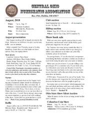 CONA Newsletter (August 2018)