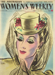 Image result for vintage magazine woman at a craft market