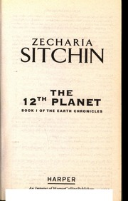 Nibiru the 12th planet zecharia sitchin 1976 | zecharia sitchin | homo.