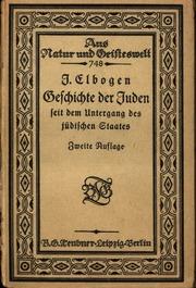 Geschichte der Juden seit dem Untergang des jüdischen Staates
