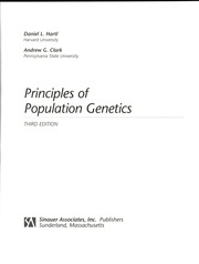 Principles Of Population Genetics Hartl Pdf