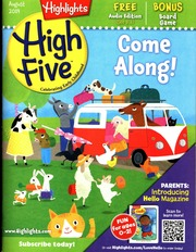 Highlights High Five 2014-08 Vol 8, Num 8, Issue No 8