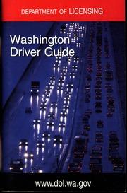 Washington Driver Guide  Department of Licensing dol wa gov