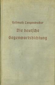 Die deutsche Gegenwartsdichtung