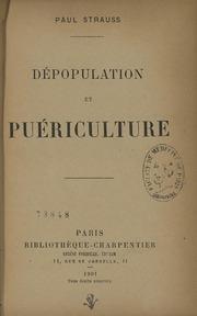 Dépopulation et puériculture