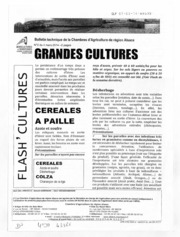 Bulletin technique des stations davertissements agricoles - Grandes cultures - Alsace - 2014 - 3