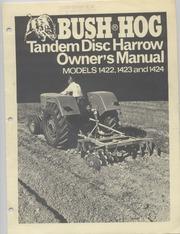Bush Hog Disc Harrow