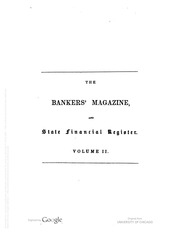 The Bankers Magazine [vol. 2]