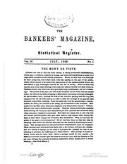 The Bankers Magazine [vol. 4]