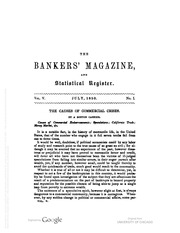 The Bankers Magazine [vol. 5]