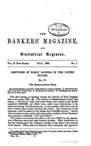 The Bankers Magazine [vol. 7]