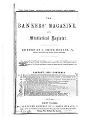 The Bankers Magazine [vol. 16]
