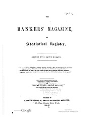 The Bankers Magazine [vol. 21]