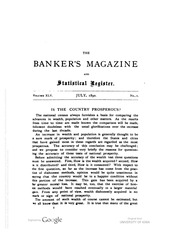 The Bankers Magazine [vol. 45]