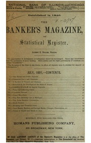 The Bankers Magazine [vol. 46]