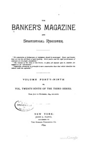The Bankers Magazine [vol. 48]